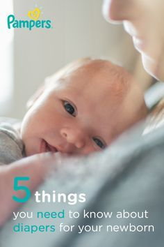 When preparing to bring home your newborn, we know nothing is more important to you than your baby's needs. These 5 things you need to know about diapers for your newborn may give you peace of mind in those first few weeks that you are caring for your baby's soft skin, keeping wetness at bay, and helping your little one sleep and play in comfort with soft and absorbent Pampers Swaddlers.