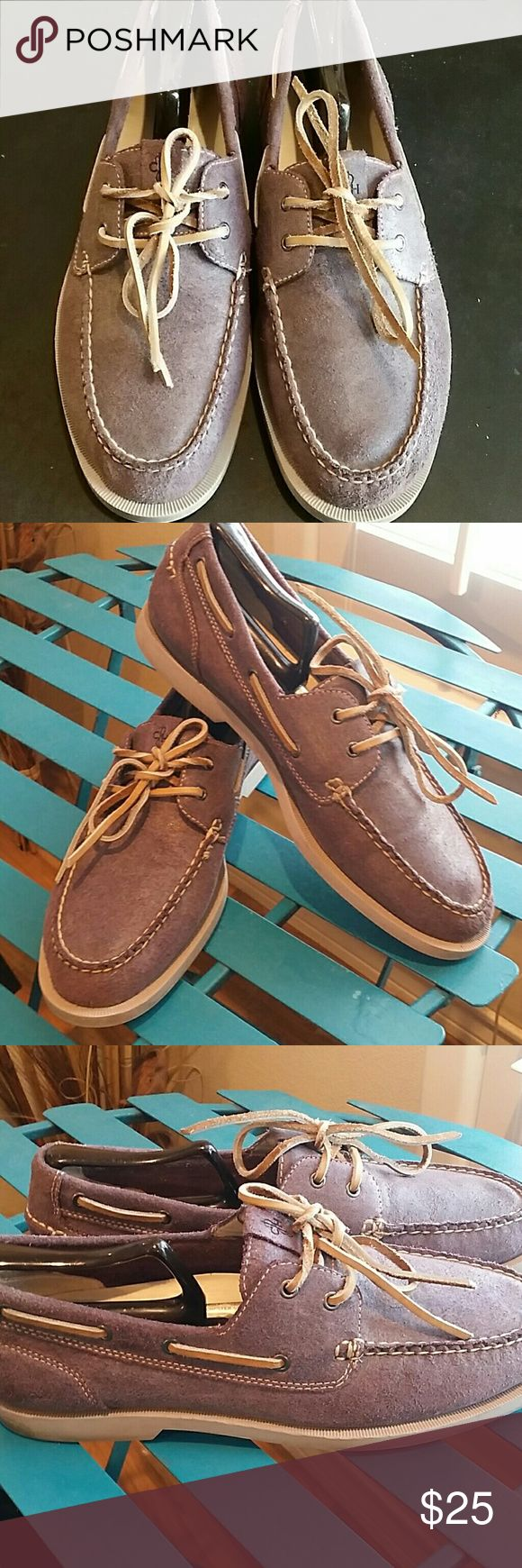 Cole Haan Air Yacht Club Mulberry Boat Shoes Cole Haan Air Yacht Club Mulberry Boat Shoes in great condition Cole Haan Shoes Boat Shoes