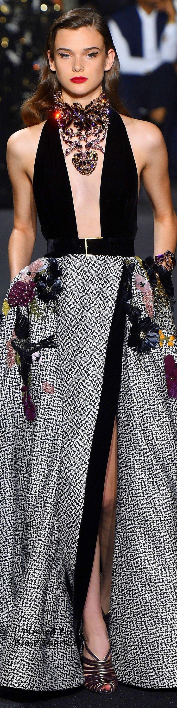 Paris Fall Couture 2016 Elie Saab ~ ♕♚εїз | BLAIR SPARKLES |