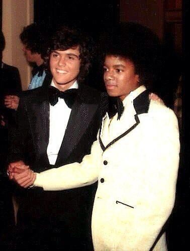 Michael Jackson and Donnie Osmond