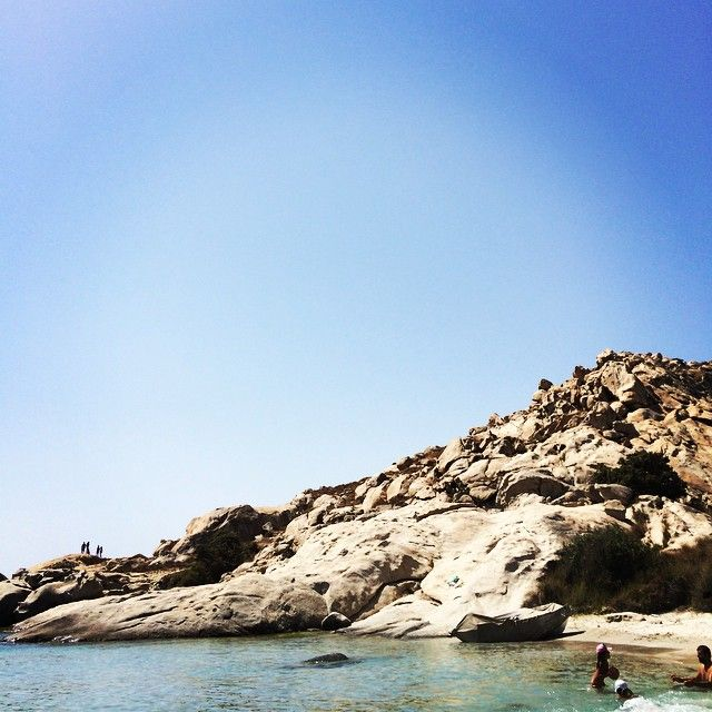 Mikri Vigla #beach on #Naxos Photo credits: @mademoisellekalle