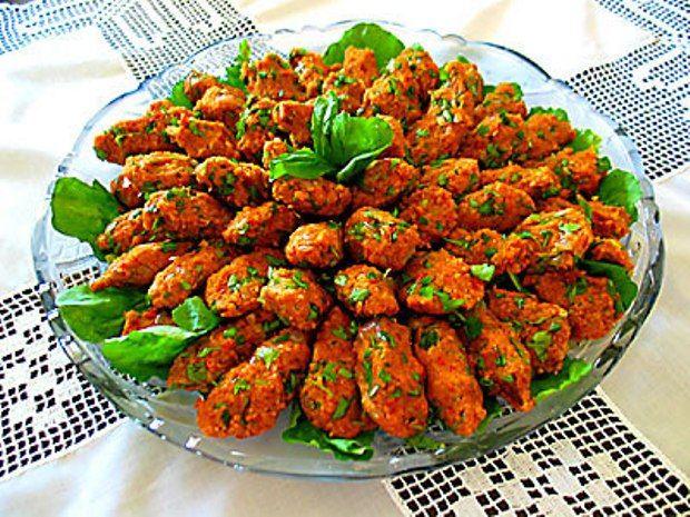 mercimekli köfte (lentils balls)
