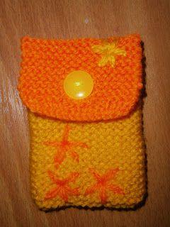 Lia B. Creations: Woollen pouch 014