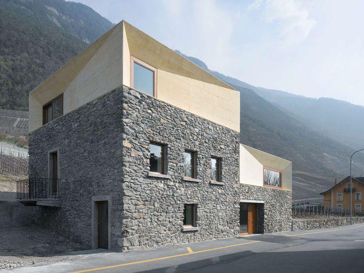 Transformation charrat par clavienrossier architects for Architecture suisse