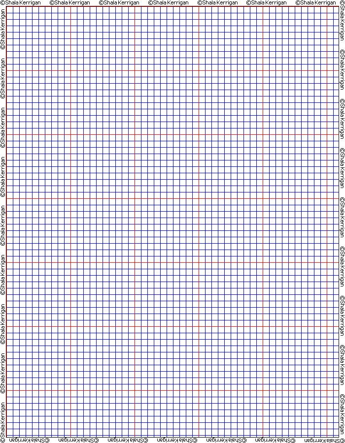 Shalas Graph Paper ~ Free Printable Graph Paper For All Sorts Of Beading  Stitches, Knitting And Cross Stitch And Needlepoint.