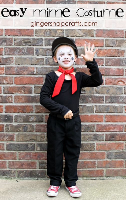easy mime costume - Mime For Halloween