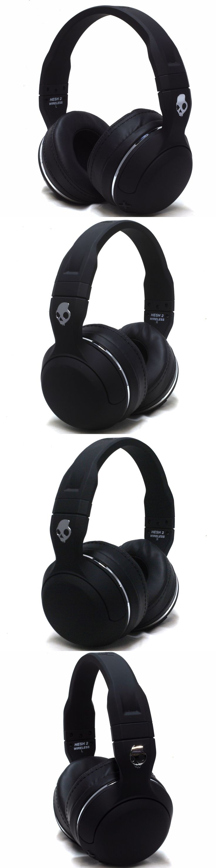 electronics: New Skullcandy Hesh 2 Bluetooth Wireless Headphones Headset With Mic Black -> BUY IT NOW ONLY: $38.97 on eBay!