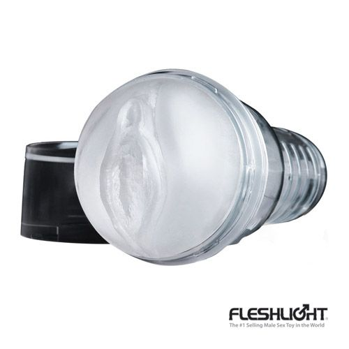 FLESHLIGHT ICE LADY  Fleshlight Ice Lady is an exciting design that allows for visual stimulation in addition to a highly arousing chiseled crystal interior. Made of the highest grade silicone, Fleshlight is a favourite for those seeking a realistic alternative to penetrative sex.