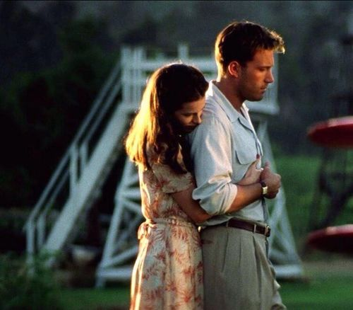 Evelyn & Rafe, Pearl Harbor.