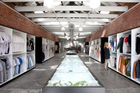 This is a really interesting shop packed with local designer clothing and accessories : Design a space in Fitzroy, VIC
