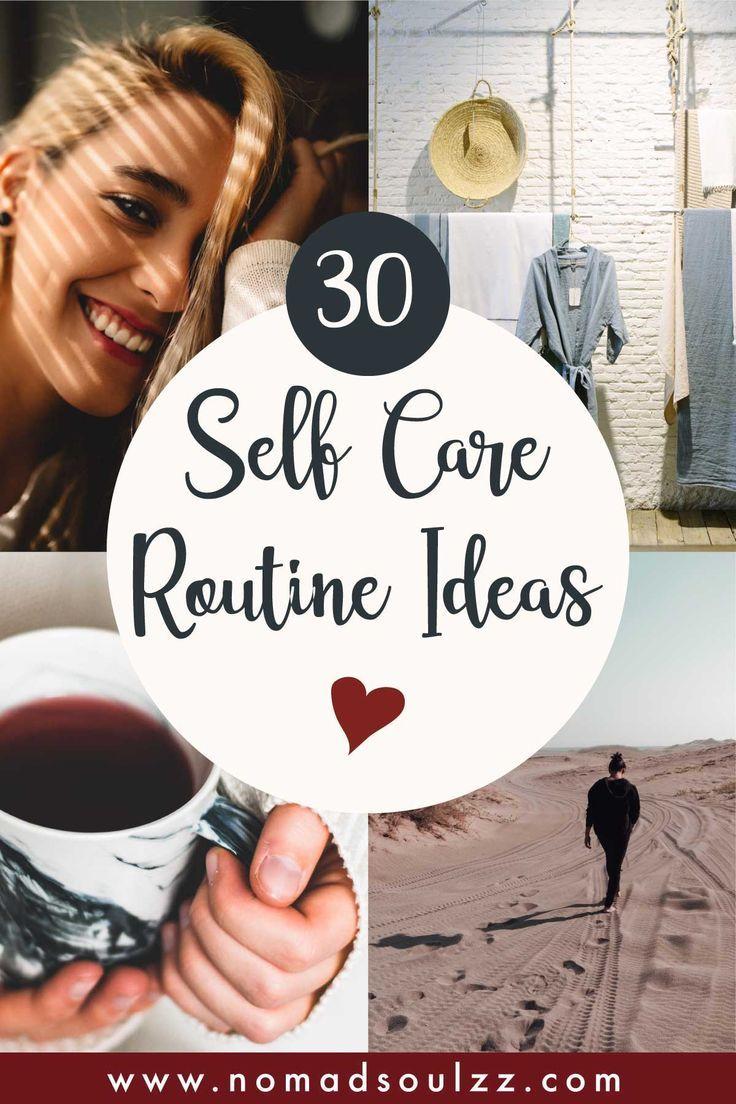 Eine einfache Checkliste für die Selbstpflege, um Körper, Geist und Seele zu entspannen.   – Self Love + Self Care   Love Yourself!