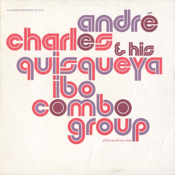 André Charles And His Quisqueya Ibo Combo Group. Sleeve by Ronald Clyne.