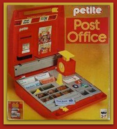 Image result for toy post office 1970s