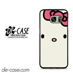 Cute Hello Kitty DEAL-2923 Samsung Phonecase Cover For Samsung Galaxy S7 / S7 Edge