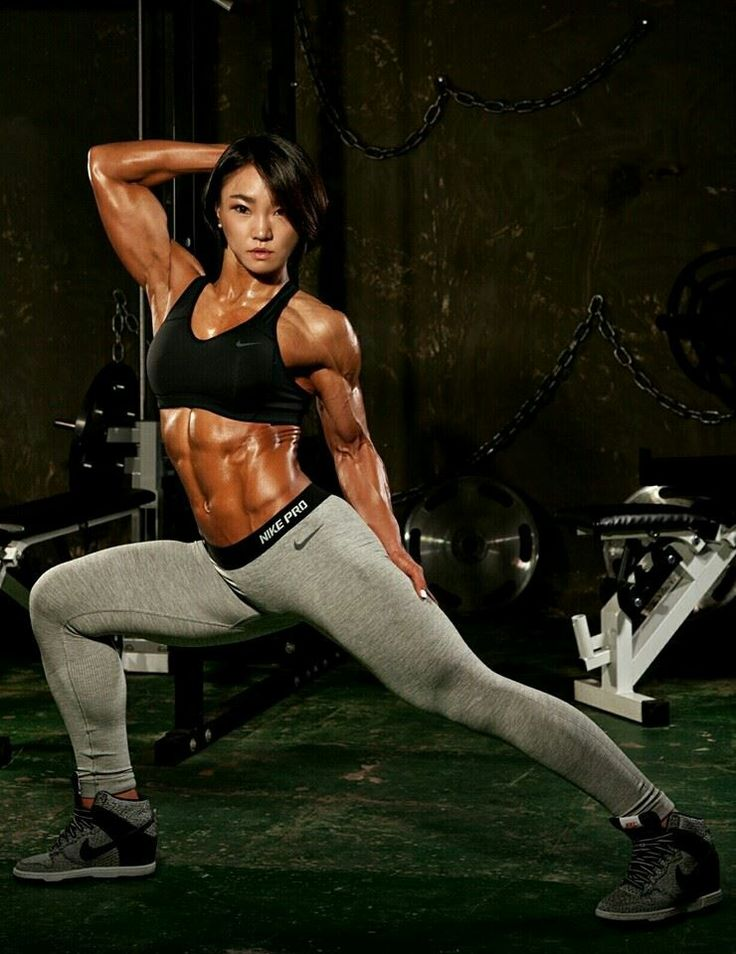 38 best Ju Mi Kim images on Pinterest | Crossfit women, Exercises ...