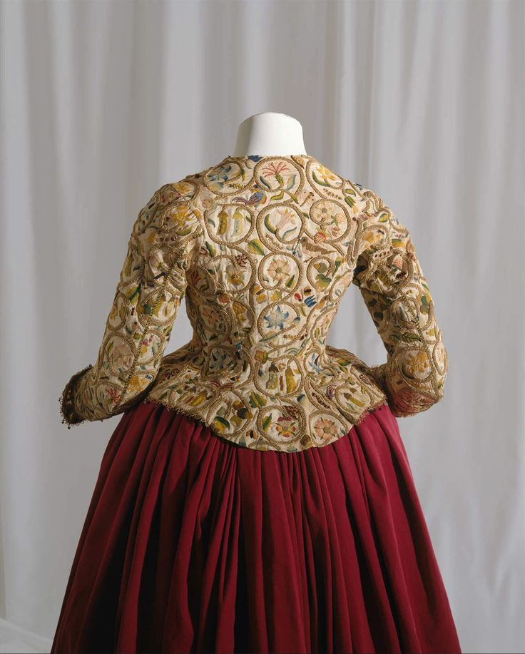 1616, United Kingdom - Jacket - Linen, silk, metal