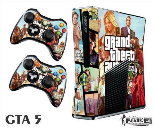 Xbox 360 Slim Skin GTA 5 I Need
