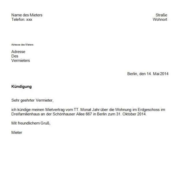 Attraktiv Vorlage Kundigung Wohnung Durch Mieter In 2020 Vorlagen Word Briefkopf Vorlage Lebenslauf Vorlagen Word