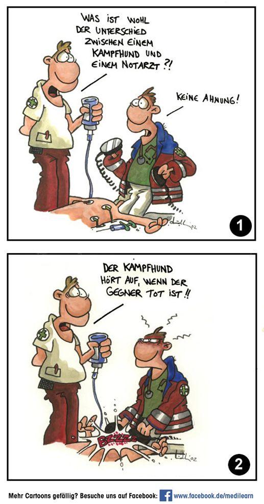 Unterschied Kampfhund - Notarzt