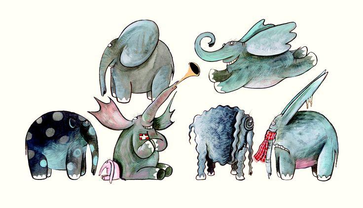 Bruger elefanter solbriller? – Oscar K. og Dorte Karrebæk LILLE HÅNDBOG FOR ELFANTELSKERE