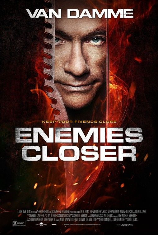 Jean-Claude van Damme's - Enemies Closer Movie Poster