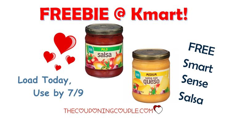 It's the KMART FRIDAY FIX! Get an ecoupon for FREE Smart Sense Salsa! Get the ecoupon now!  Click the link below to get all of the details ► http://www.thecouponingcouple.com/kmart-friday-fix/ #Coupons #Couponing #CouponCommunity  Visit us at http://www.thecouponingcouple.com for more great posts!