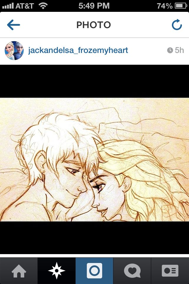 Love the art. Jack and elsa