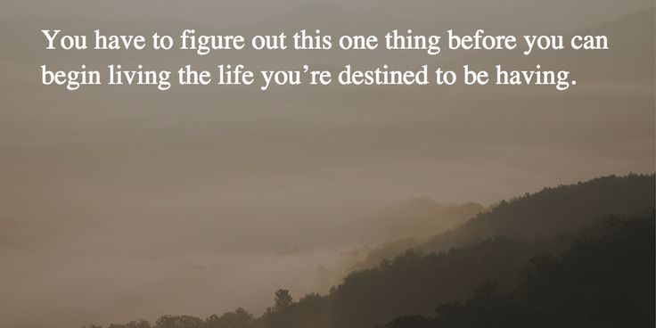 You have to figure out one thing before you can begin living you life. What's this? https://www.linkedin.com/pulse/article/penultimate-truth-your-life-joseph-riggio/edit