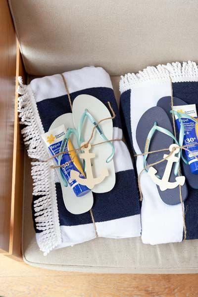 Styling ideas for a coastal chic wedding.