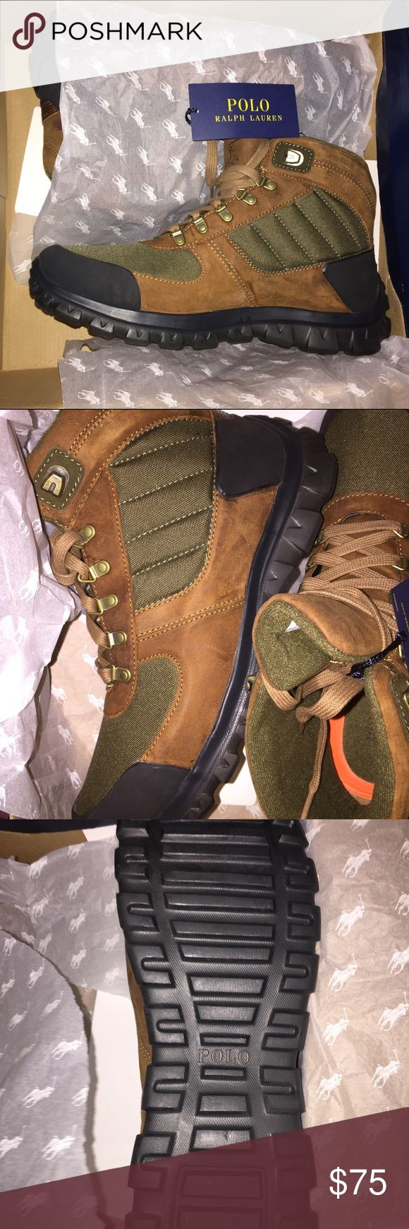 Men's New Ralph Lauren Polo Boots Bought Wrong Size . Never Worn And Come With Box Ralph Lauren Shoes Boots