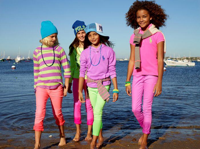 Keep your RL Girl happy with bright hues from our Childrenswear collection for spring