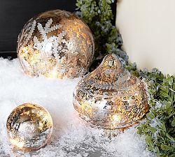 Mercury Glass Ornaments & Mercury Glass Decorations   Pottery Barn