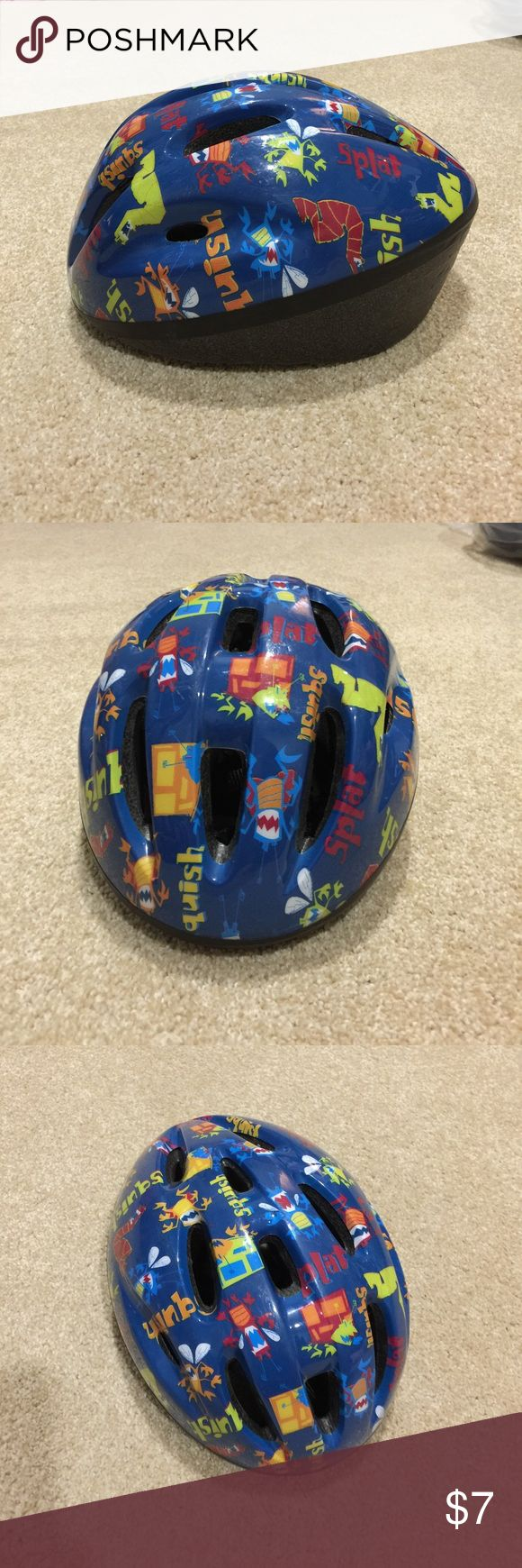 Boy's Bike Helmet Boy's blue Bike safety Helmet, would fit approx 4 - 6 yrs of age. Good gently used condition. No damage, tears, rips or stains. 20% off 3+ items in my closet. BUNDLE & SAVE!! Accessories Hats
