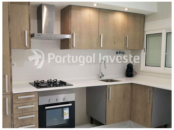 Cozinha, Vende ótimo apartamento T3, remodelado, suite, boa localização, no Feijó - Portugal Investe