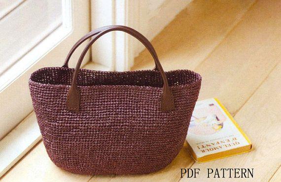 PDF Patternraffia bag patternsummer bag patterntote di BusyPaws, $5.00
