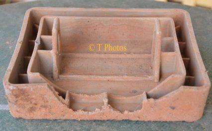 Caravan Plastic sand Blasted foot