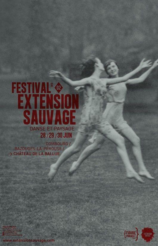 Festival Extension Sauvage 2013, Danse et Paysage