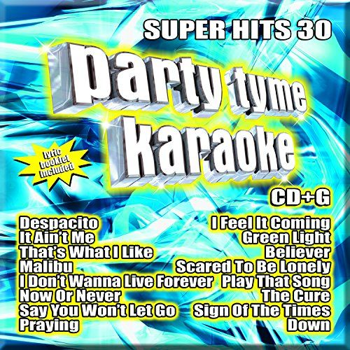 Party Tyme Karaoke - Super Hits 30 [16-song CD+G] Sybersound https://www.amazon.com/dp/B074WKLTBK/ref=cm_sw_r_pi_dp_U_x_m7CJAb04BD3KF
