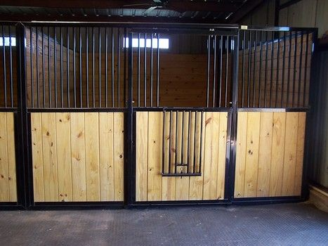 Rockin J Horse Stall doors