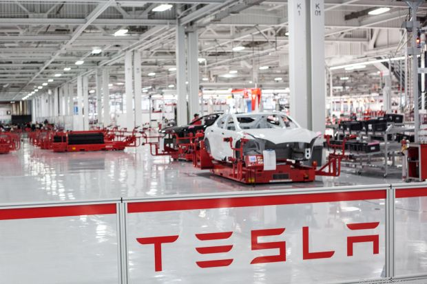 Tesla Motors and the robots that build the Model S http://cnet.co/LNz9CO