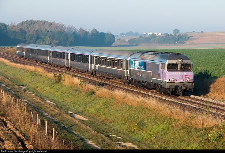 RailPictures.Net Photo: CC72180 SNCF CC 72000 at Herme, France by joe briand