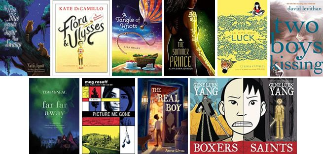2013 National Book Award Longlist for Young People's Literature - All 2013 titles and list from NationalBook.org