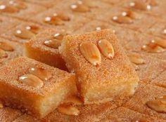 Yum... I'd Pinch That! | Namoura - Lebanese Semolina Cake