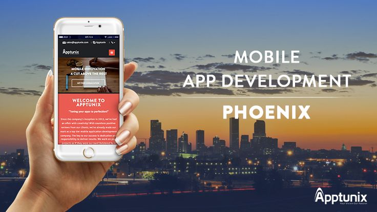 Looking for mobile app development in Phoenix? No problem, Apptunix provides top-notch mobile app development services that convert your idea into your dream app. Our Phoenix mobile app developers are highly experienced and skilled in building quality mobile apps.