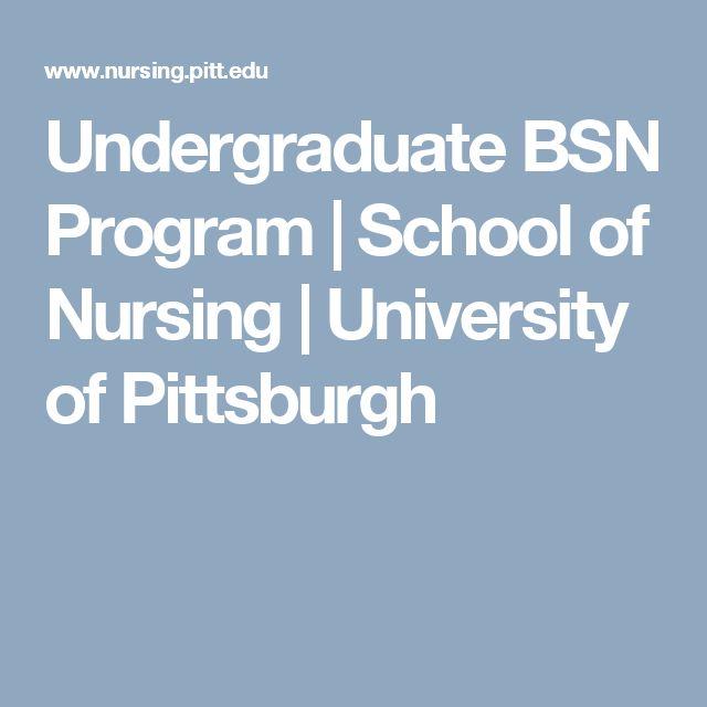 Undergraduate BSN Program   School of Nursing   University of Pittsburgh