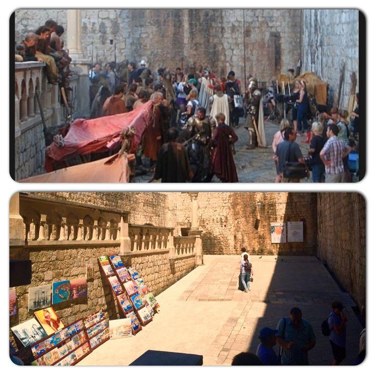 Pile Gate, (merchant market of King's Landing), old town Dubrovnik, Croatia