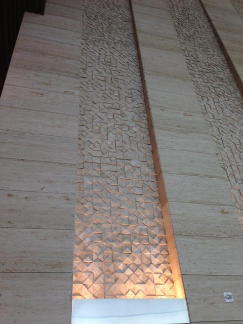 Al Hamra, wall detail, Kuwait