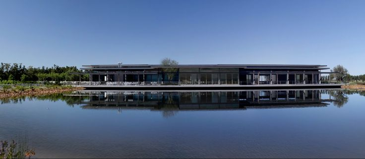 An Architectural delight! The beautiful Cavalli Estate building in Stellenbosch, South Africa   #CavalliEstate #Architecture