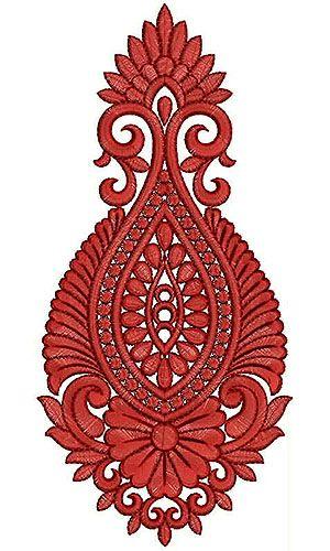 Sari Embroidery Design