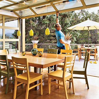 Sunroom Habitación acristalada